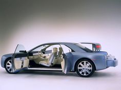 This is the 2002 Lincoln Continental concept. Yes, you read that right: It's still so good that it not only puts the current Lincoln Continental to shame, but Lincoln should seriously just go ahead and put it into production. Ford Motor Company, Lincoln Continental Concept, New Lincoln, Lincoln Mks, Lincoln Motor, Abraham Lincoln, Ford Lincoln Mercury, Us Cars, Custom Cars