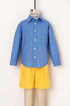 sketchbook shirt + shorts sewing pattern   oliver + s