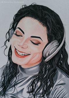 Soft pastel drawing, Size x 42 cm, Canson paper Michael Jackson Drawings, Michael Jackson Art, Michelangelo, Ariana Grande Drawings, Black Women Art, Black Art, Music Artists, Great Artists, Jackson's Art