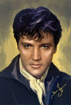 Sara Lynn Sanders´ art. Elvis Aaron Presley - January 8, 1935 Tupelo, Mississippi, U.S. Died	August 16, 1977 (aged 42) Memphis, Tennessee, U.S. Resting place Graceland, Memphis, Tennessee, U.S. Education . L.C. Humes High School Occupation Singer, actor Home town Memphis, Tennessee, U.S. Spouse(s) Priscilla Beaulieu (m. 1967; div. 1973) Children Lisa Marie Presley