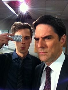 (serious) Thomas and (funny) Matthew - criminal-minds Photo
