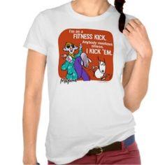 Maxine Fitness T Shirts