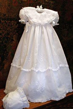 An unforgettable christening gown