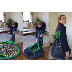 Lay-n-Go LARGE Green (5' Diameter)  Great if you have children.