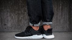 hot sale online 2dd2f 5b7b9 ADIDAS EQT SUPPORT 93 17 CORE BLACK   WHITE LIMITED EDITION SNEAKERS ALL  SIZES  adidas  RunningShoes