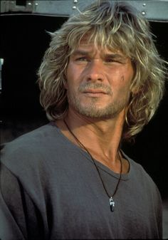 Patrick Swayze.....The hair and scruff , ;-)