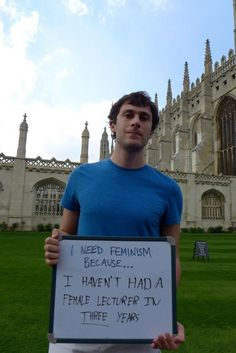 Why Cambridge Needs Feminism: Student Projects Gets Around-The-World Support