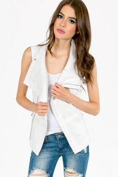 Brand and Label Ranger Perforated Vest $56 at www.tobi.com