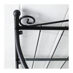 RÖNNSKÄR Corner shelf unit, black - - - IKEA