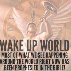 WAKE UP WORLD!! Jesus is coming!....... Go to: thevoiceoftruthblog.weebly.com -- For information on being prepared.... Watching the current signs, Messages from the Lord, & info on salvation! Blessed are those who are found watching! ❤️