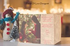 Design your Own Christmas Photo Block by FacesOfLoveDesigns
