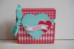 Stampin Up!  Hearts a Flutter