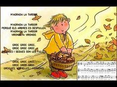M'agrada la tardor Spanish Teacher, Learn A New Language, 4 Kids, Conte, Winnie The Pooh, Musicals, Comics, Learning, Youtube