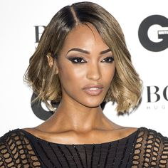 Jourdan Dunn Cat eye and highlighted brow..want to get it?