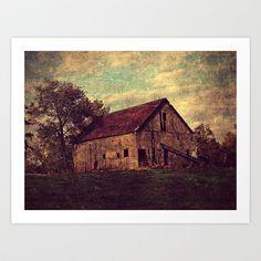 Barn Art Print by Angelandspot - $14.00