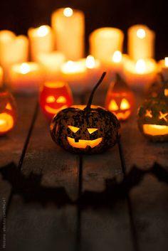 Fallen Leaves, Apple Pies & Cinnamon - Glowing faces