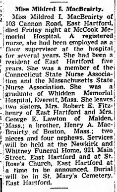 From Hartford Courant dated Saturday, March 15, 1947