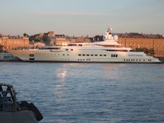 Pelorus is the world's fourteenth largest private yacht at 377 feet 3 inches (115 metres) in length, with a price tag of US-$300 million. It was built at the Lürssen yard in Bremen, Germany to the design of Tim Heywood and was launched in 2003. It was briefly owned by a Miles businessman who sold it to Russian billionaire Roman Abramovich (the owner of British soccer club Chelsea FC) the following year. Abramovich had it refitted to his own requirements by Blohm & Voss. This included...