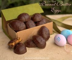 Low Carb Peanut Butter Cups I enjoy every bite of my homemade eggs without any guilt. Oh, AND always make sure you use NATURAL peanut butter…Jiff has trans-fats!