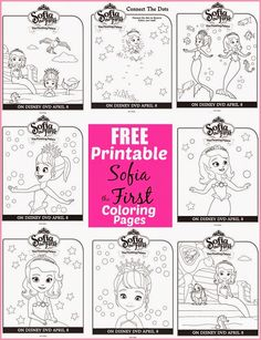 disney sofia the first the floating palace free printable coloring sheets and
