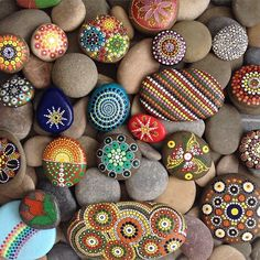 Hand Painted Rocks                                                       …