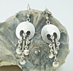 Ottoman Fashion Jewelry Swingy Dangle Earrings