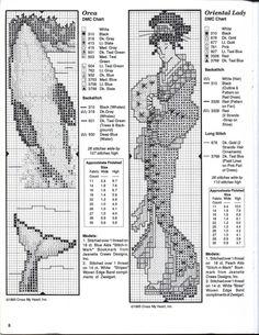 bookmark - orca - oriental lady