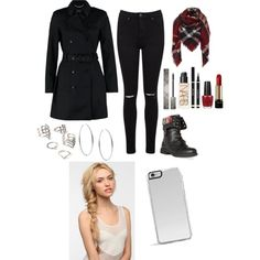 A fashion look from March 2015 featuring Miss Selfridge jeans, DailyLook ankle booties and Michael Kors earrings. Browse and shop related looks.