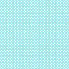 Blue and white polka dot paper