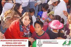 Voces / Expresion e Informacion. - Municipio comparte la rosca con los Almoloyajuarences