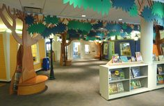 children's rooms public libraries | Argyle Design - Fairfield Public Library Children's Library