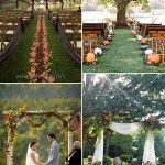 When it comes to a fall wedding, it's hard to beat it because of the sheer rustic and beautiful hues it offers. Today I'm going to introduce a color scheme of fall wedding ideas-purple and orange wedding, a perfect co. Autumn Wedding Ideas On A Budget, Fall Wedding Colors, Orange Wedding, Fall Wedding Dresses, Budget Wedding, Ceremony Backdrop, Wedding Reception, Wedding Venues, Wedding Trends