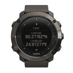 GPS計測だけでなく、気圧計や電子コンパスなど、デイハイクやトレッキング、フィッシングといったアウトドアを楽しむ機能を装備。SUUNTOアウトドアカテゴリのフラッグシップモデル。