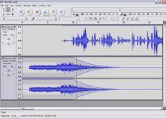 Review of Audacity Audio Editor: Audacity Screenshot