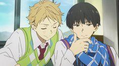 Find images and videos about anime, kyoukai no kanata and akihito kanbara on We Heart It - the app to get lost in what you love. All Anime, Anime Manga, Anime Guys, Anime Art, Katana, Otaku, Anim Gif, Anime Friendship, Beyond The Boundary