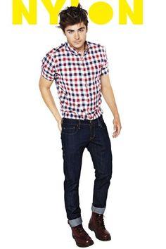 Zac Efron for Nylon Guys