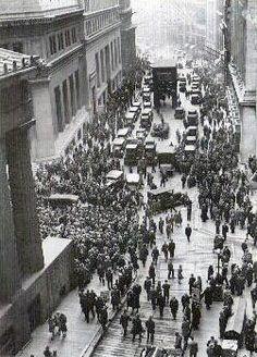BÖRSENCRASH VON 1929