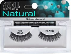 4a911534966 Shop for Natural Demi Black Lashes from Ardell at Sally Beauty. Natural  Lashes are lightweight, reusable, easy-to-apply, and give you a natural  look of full ...