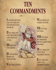 The Ten Commandments of the Bible are taught to us by Jesus. From the Bible we read the story of Moses and the Decalogue. Bible Verses Quotes, Bible Scriptures, Bible Study Notebook, Catholic Religion, Catholic Theology, A Course In Miracles, Bible Prayers, Catholic Prayers Daily, Bible Knowledge