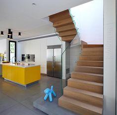 ארוך ומשגע: שיפוץ בית משפחתי בהרצליה | בניין ודיור