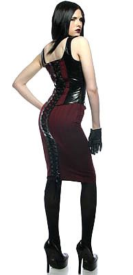 Since the start of the modern fetish clubbing scene the Gothic (or Goth) movement has played an important. Disenfranchised goth types formed a sizeable percentage of early fetish clubbers as well as being seminal in the formation of several London and USA club nights. Goth and fetish fashion frequently intersect.