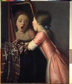 Sincerity, joy reflected in Liotard's 'Mirror' - The Boston Globe