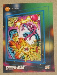 Marvel Universe Series 3 (Impel 1992) Card #162 The Origin of Spider-Man NM