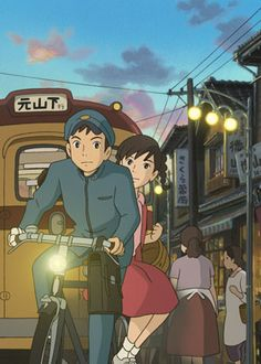From Up On Poppy Hill is the latest film from Hayao Miyazaki's son, Goro Miyazaki. This film follows the story of a school who must fight for the protection of their precious Latin building which houses many of the schools club houses. Most predominantly of these is the literature club's club house which prints the schools newspaper.
