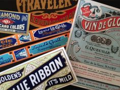 Win these gorgeous vintage labels!