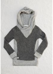 Bristol Crossover Hoodie from Lennon + Wolfe