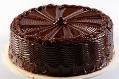 torta de cumpleaños de chocolate
