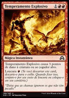 Temperamento Explosivo / Fiery Temper | Busca de Cards | Ligamagic
