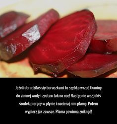 Jak pozbyć się buraczanej plamy? Coloring Pages, Beef, Tips, Food, Quote Coloring Pages, Meat, Essen, Kids Coloring, Meals