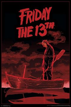 Halloween Poster, Halloween Movies, Scary Movies, Horror Movie Posters, Movie Poster Art, Cool Movie Posters, Horror Icons, Jason Viernes 13, Friday The 13th Poster